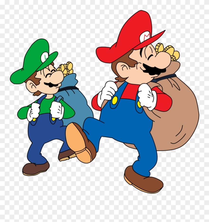 2 brothers clipart clip library download Image Library Download 2 Brothers Clipart - Mario Bros Peach Hime ... clip library download