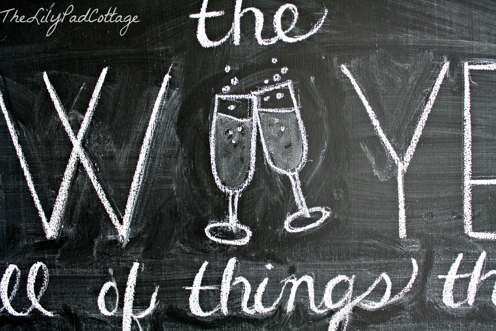 10 Chalkboard Tips and Tricks - The Lilypad Cottage jpg transparent download