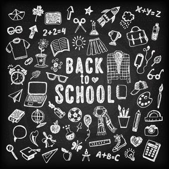 Free clipart 1st day of school black chalk board images clip art freeuse stock Chalk Vectors, Photos and PSD files | Free Download clip art freeuse stock