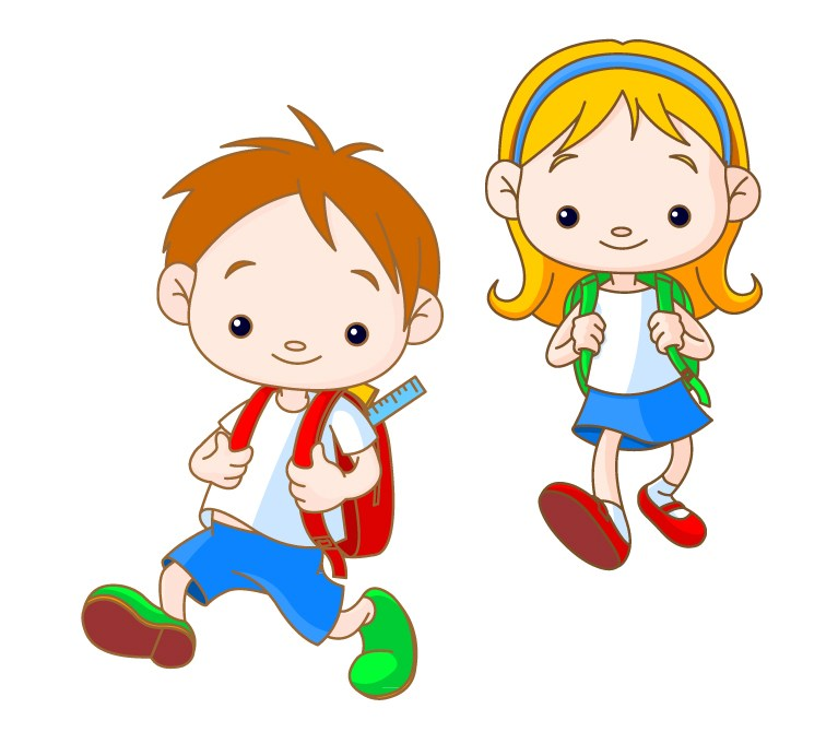 2 children clipart jpg black and white library 2 children clipart 3 » Clipart Portal jpg black and white library