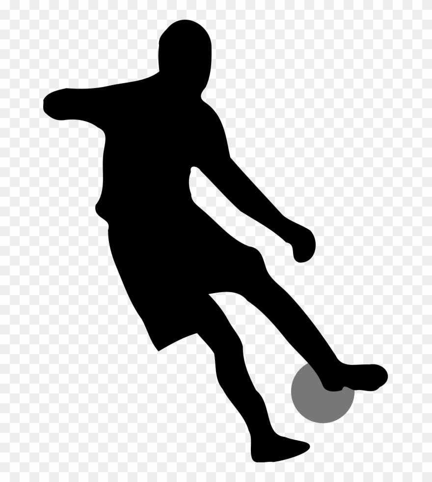 2 clipart silhouette no background graphic royalty free library Clip Arts Related To - Soccer Player Silhouette No Background - Png ... graphic royalty free library