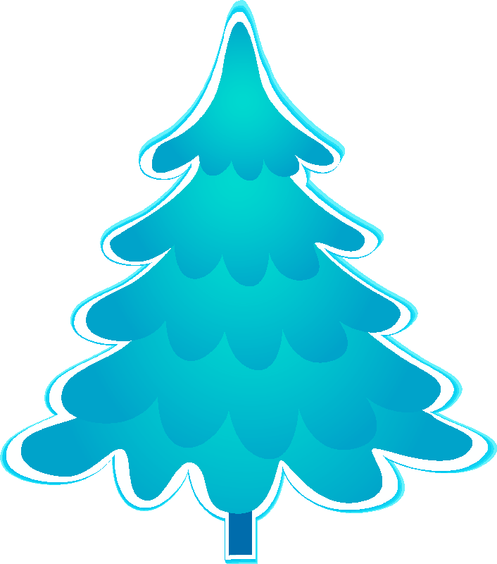 2 color xmas clipart clipart royalty free download BLUE CHRISTMAS TREE | CLIP ART - CHRISTMAS 2 - CLIPART | Blue ... clipart royalty free download