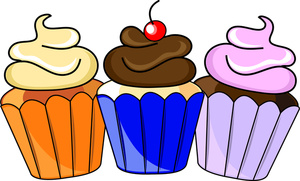 Free Cupcakes Cliparts, Download Free Clip Art, Free Clip Art on ... graphic black and white download