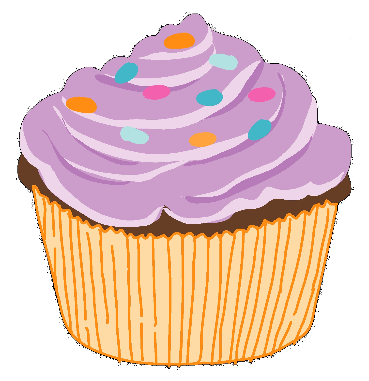 Clipart cupcake
