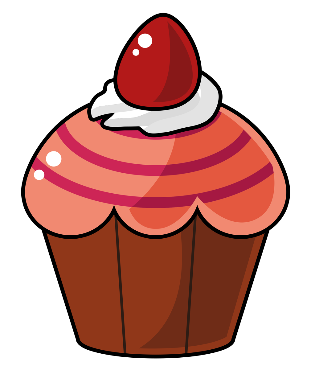 Cartoon cupcake clipart clip art freeuse library Cupcake free to use clip art 2 - Cliparting.com clip art freeuse library