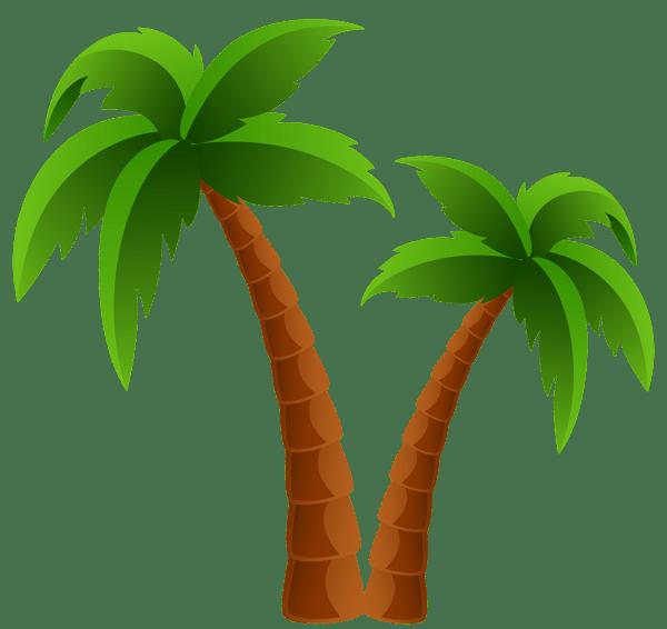 Palm trees clipart 2 » Clipart Portal banner transparent stock