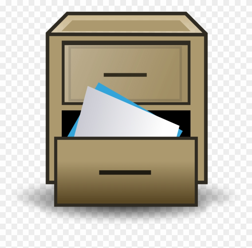 2 drawer file cabinet clipart royalty free File Filing Cabinet Icon Svg Wikimedia Commons Drawer - File Cabinet ... royalty free