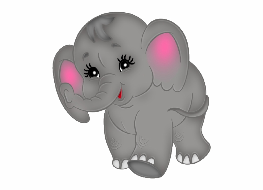 Baby indian elephants clipart free Baby Elephant Clipart 2 - Cute Baby Elephant Animated {#665716 ... free