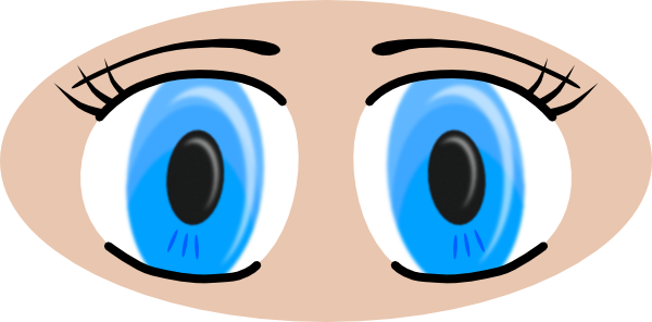 2 eyeballs clipart graphic freeuse stock Free Clipart Eyes   Free download best Free Clipart Eyes on ... graphic freeuse stock