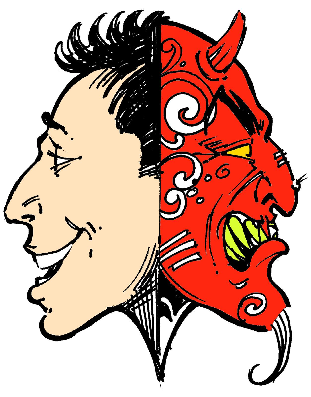 2 faced clipart clip art transparent download two-faced-clipart-7 - PottyPadre clip art transparent download