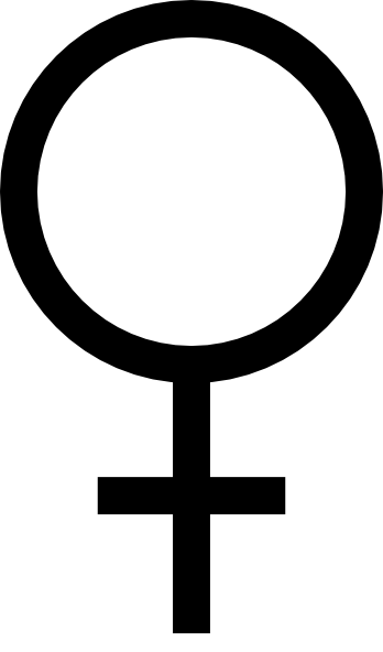 2 female symbol clipart