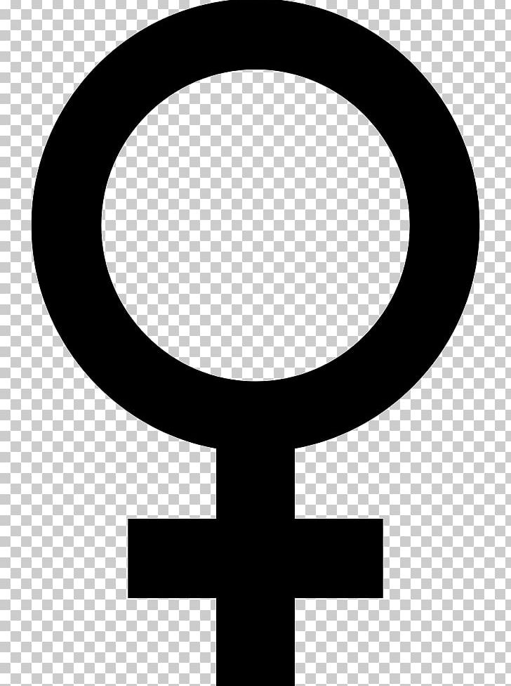 Cross in circle clipart black and white svg library Gender Symbol Female Sign PNG, Clipart, Black And White, Cdr, Circle ... svg library
