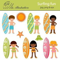 Shops, Surf board and Swim on Pinterest clip art library library