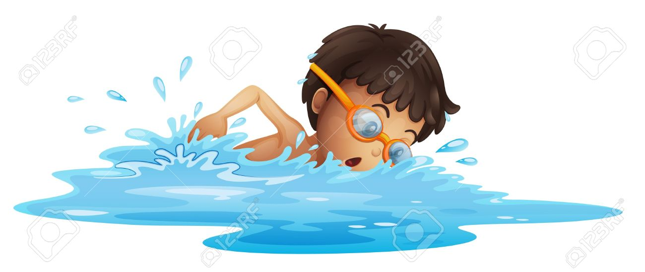 2 girls and 1 boy swimming in the pool clipart clip royalty free stock 1,232 Boy Young Swim Stock Illustrations, Cliparts And Royalty ... clip royalty free stock