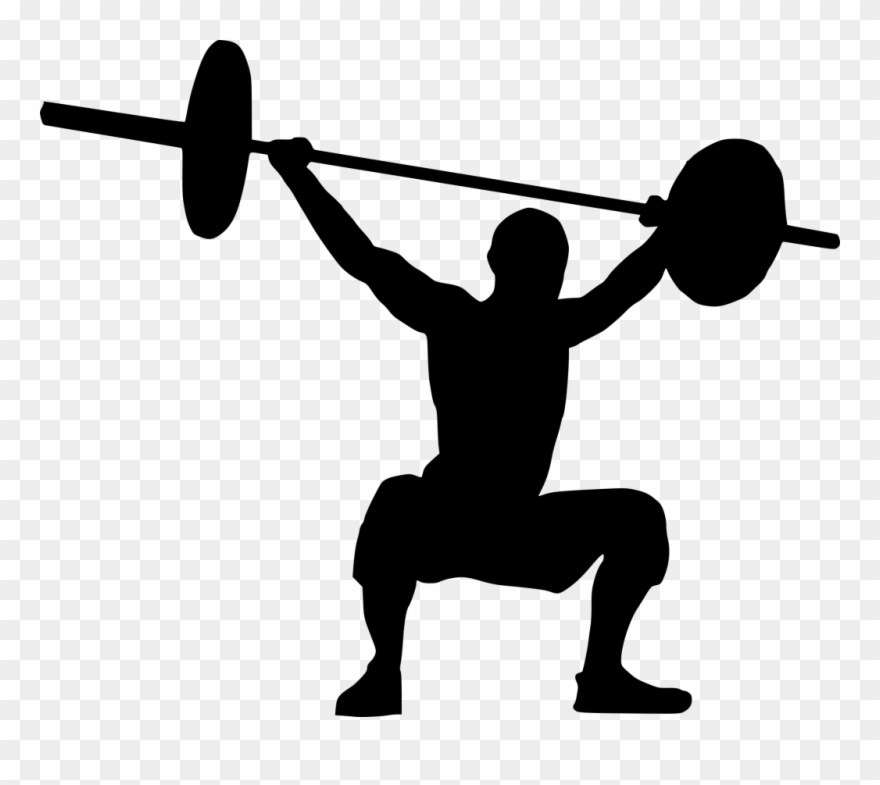 Weight lifting pictures clipart banner free library Weight Lifting Clipart Png Transparent Png (#1673596) - PinClipart banner free library