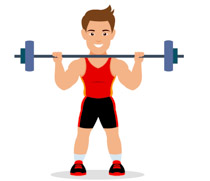 Sports Clipart - Free Weightlifting Clipart to Download clipart royalty free library