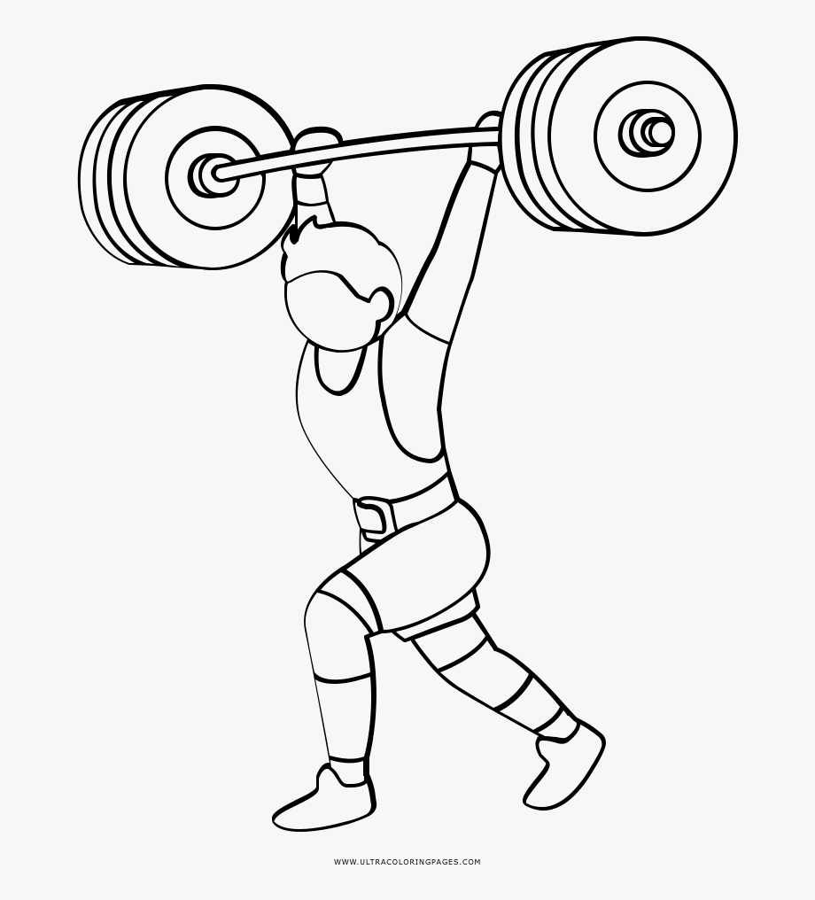 Gallery Of Clipart Of A Cartoon Perfect Weight Lifting ... clip freeuse stock