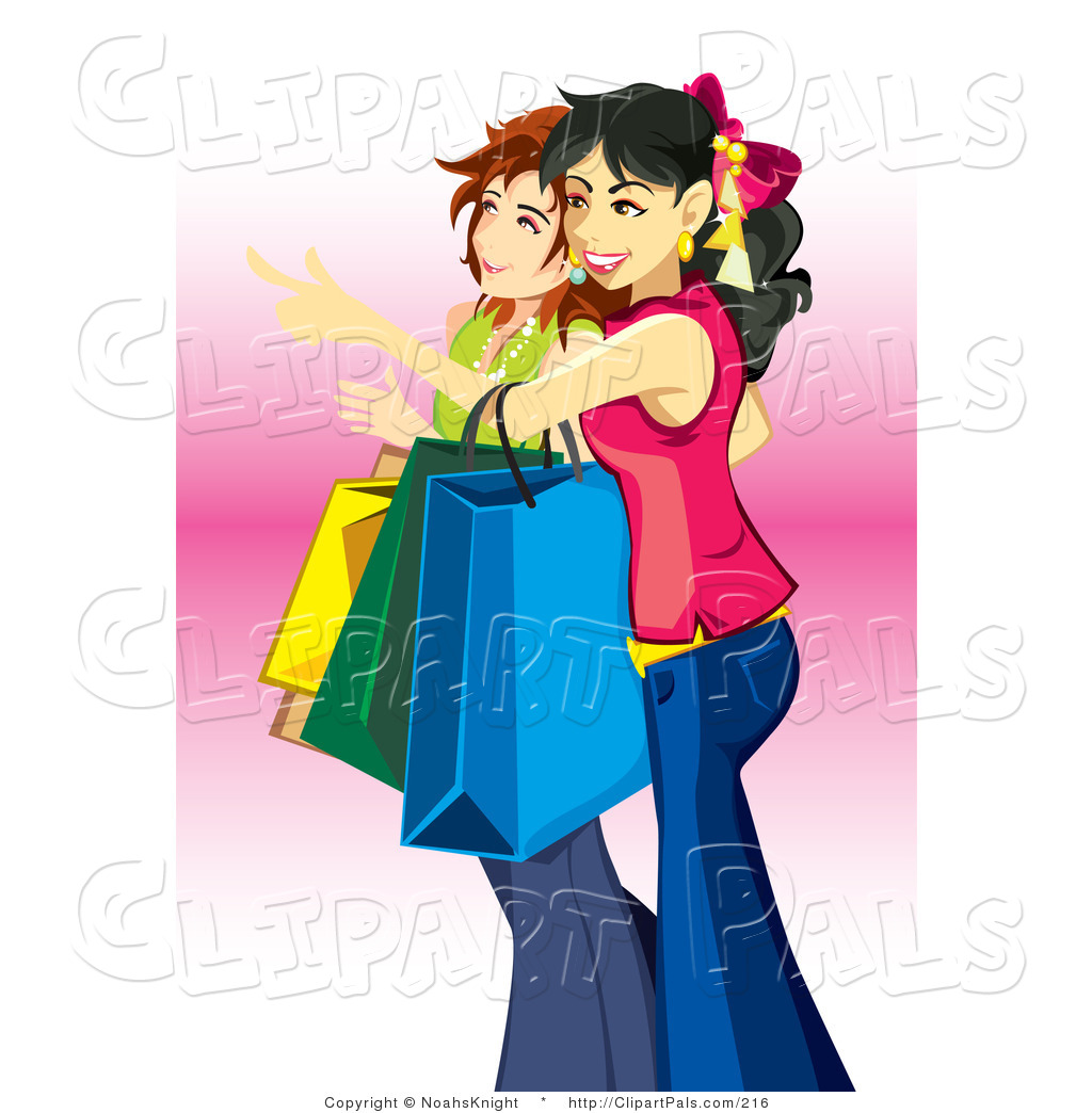 2 girls shopping clipart picture library library Girl Shopping Clipart   Free download best Girl Shopping Clipart on ... picture library library