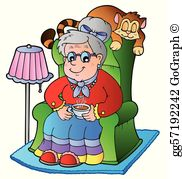 Cartoon grandma clipart jpg download Grandma Clip Art - Royalty Free - GoGraph jpg download