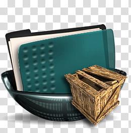Sphere , green folder in bowl and wood box art transparent ... jpg stock