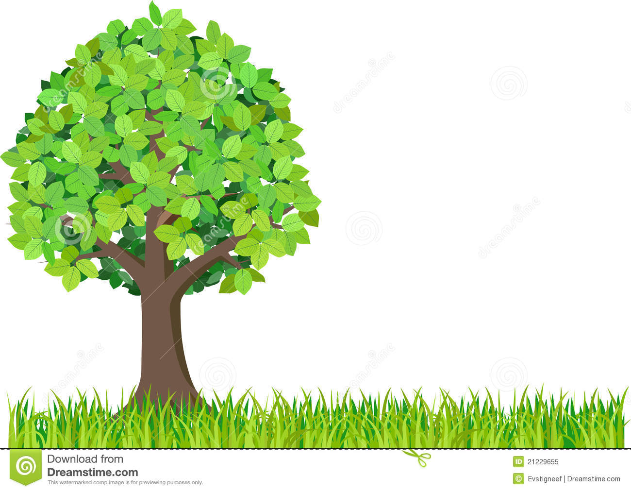 2 green trees clipart royalty free library Green isolated tree clipart stock photography image 2 image #698 royalty free library