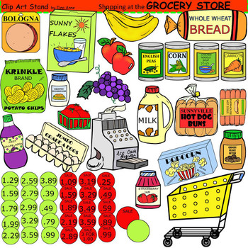 Clipart grocery jpg freeuse stock Clip Art Grocery Store jpg freeuse stock