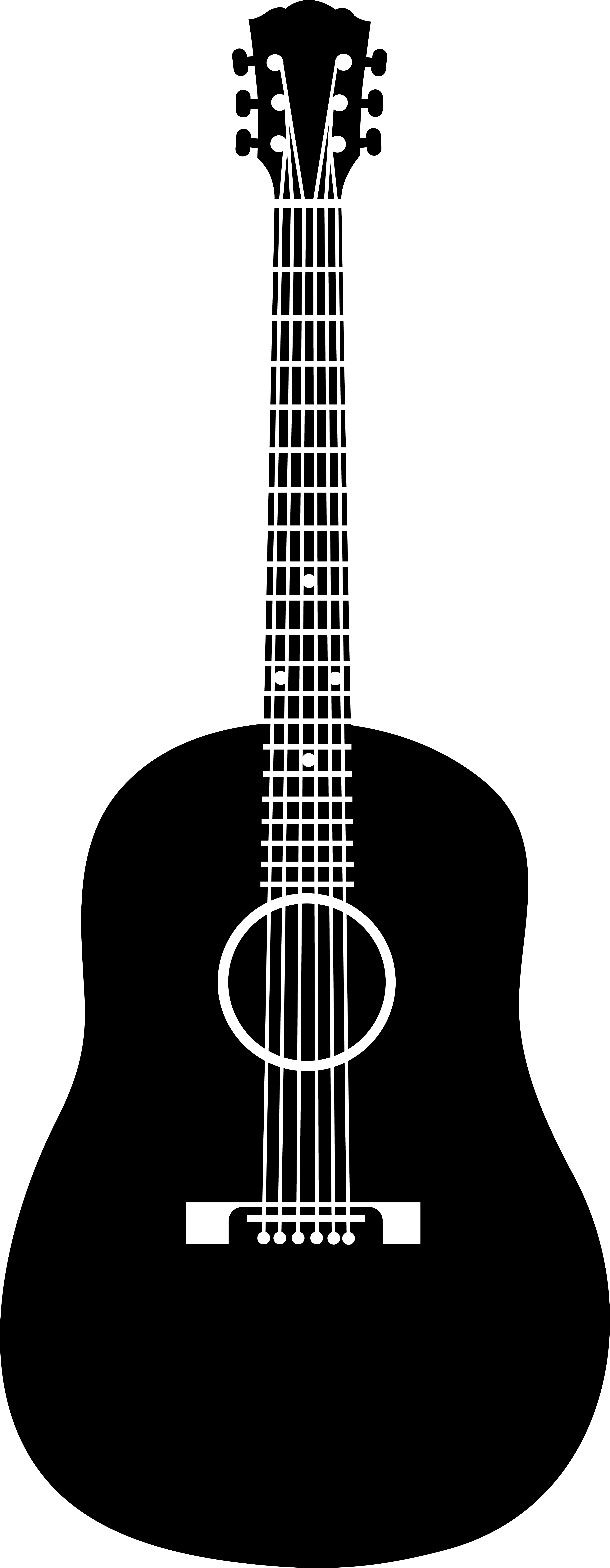 Free Guitar Clipart, Download Free Clip Art, Free Clip Art on ... png black and white download