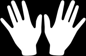 2 hand clipart graphic transparent download Two Hands Clip Art at Clker.com - vector clip art online, royalty ... graphic transparent download