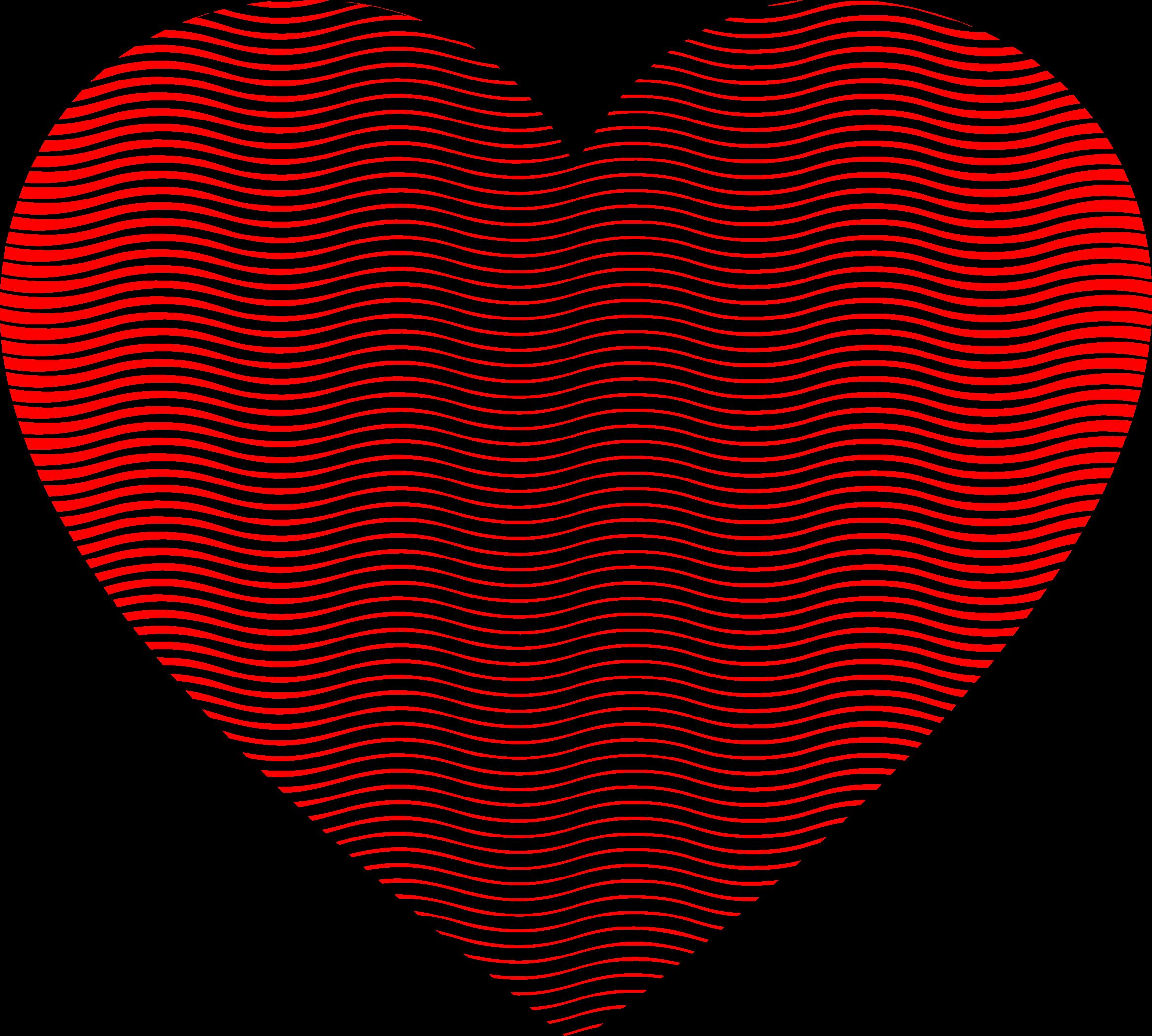 Heart line clipart jpg stock Clipart - Wavy Heart Line Art 2 jpg stock