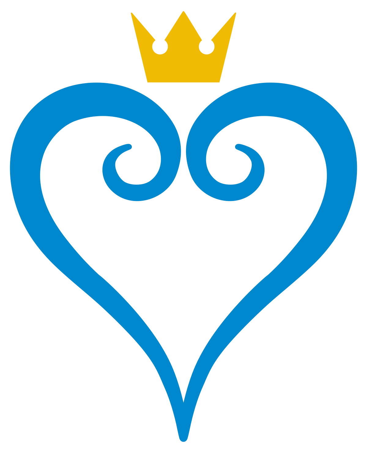 2 heart inside one another clipart image transparent Kingdom Hearts II - Wikiquote image transparent