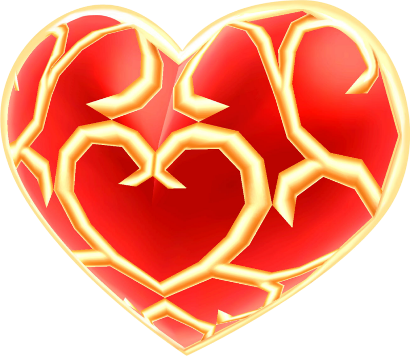 Colored crown with a heart inside clipart jpg royalty free Heart Container | Zeldapedia | FANDOM powered by Wikia jpg royalty free