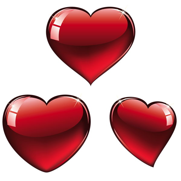 2 heart inside one another clipart jpg free Red Hearts PNG Clipart | Valentines clip | Pinterest | Valentine ... jpg free