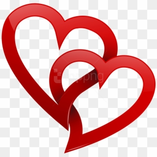 2 hearts and cross clipart picture black and white stock Two Hearts PNG Images, Free Transparent Image Download - Pngix picture black and white stock