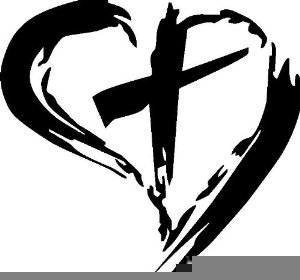 2 hearts and cross clipart clipart stock Heart With Cross Inside Clipart | Free Images at Clker.com - vector ... clipart stock
