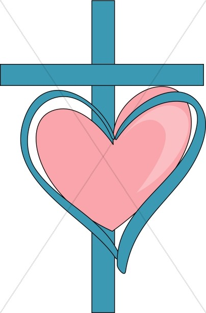 2 hearts and cross clipart clip art royalty free Heart and cross clipart 2 » Clipart Station clip art royalty free