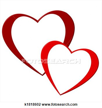 2 hearts clipart banner library download Two Hearts Graphics Clipart - Clipart Kid banner library download