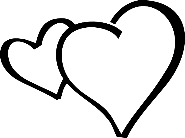 2 hearts clipart jpg transparent Clipart 2 hearts - ClipartFest jpg transparent