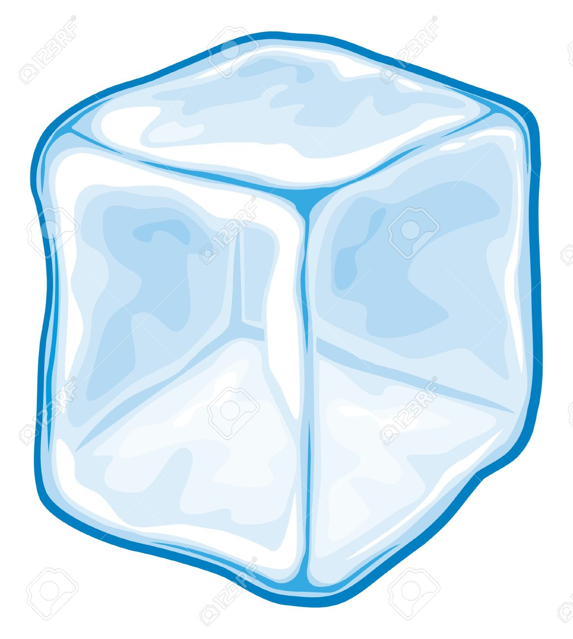 2 ice cubes clipart graphic freeuse stock Ice Cubes Clipart | Free download best Ice Cubes Clipart on ... graphic freeuse stock