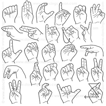 Asl sign clipart graphic freeuse download Sign language clipart 2 » Clipart Station graphic freeuse download