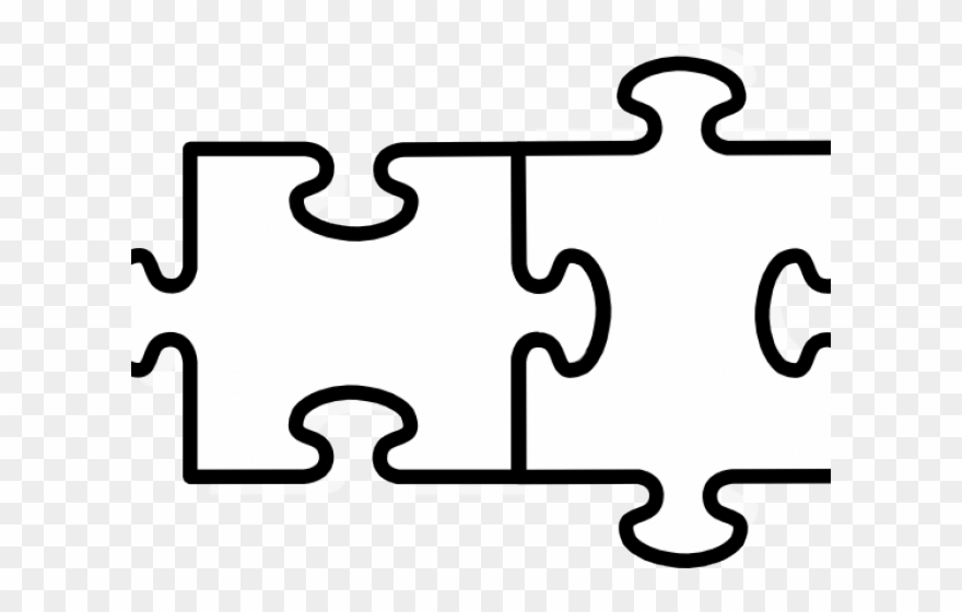 2 puzzle piece clipart picture library library Jigsaw Puzzle 2 Pieces Clipart (#4010489) - PinClipart picture library library