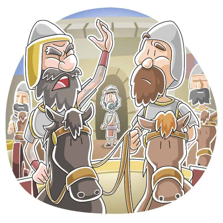 2 kings 5 clipart png black and white download Lesson: God Uses a Servant Girl to Heal Naaman (2 Kings 5:1-19 ... png black and white download