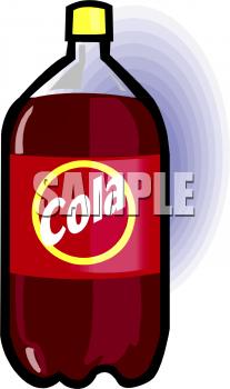 2 liter soda bottle clipart clip art free A 2-Liter Bottle Of Dark Cola Clipart Image - foodclipart.com clip art free