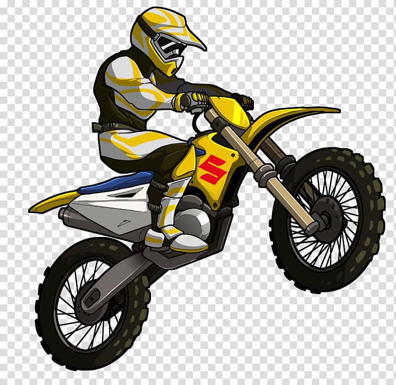 2 motorcycle riders clipart image library library Man riding Suzuki dirt bike illustration, Hill Climb Racing Mad ... image library library