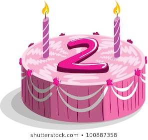 Remarkable Library Of 2 Nd Birthday Cake Image Transparent Files Funny Birthday Cards Online Elaedamsfinfo