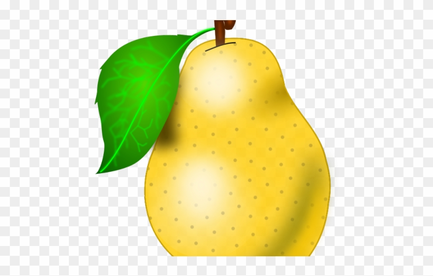 2 pears clipart graphic free library Pear Clipart Poire - Png Download (#2596678) - PinClipart graphic free library