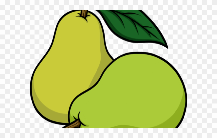 2 pears clipart clip art Pear Clipart Sketch - 2 Pears Clip Art - Png Download (#3373787 ... clip art