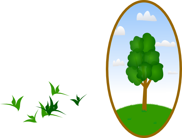 2 peop e tree clipart picture black and white library Oval Tree Landscape 2 PNG, SVG Clip art for Web - Download Clip Art ... picture black and white library