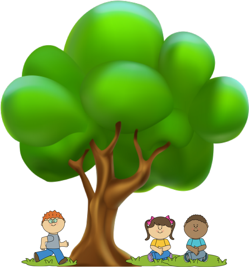 2 peop e tree clipart image library library 2 - - Free Cartoon Tree Png , Transparent Cartoon - Jing.fm image library library