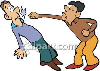 2 people fighting clipart clipart black and white library People Fighting Images   Free download best People Fighting Images ... clipart black and white library