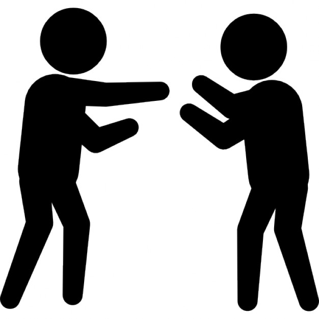 2 people fighting clipart banner black and white download People Fighting Images   Free download best People Fighting Images ... banner black and white download